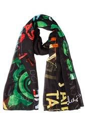 Desigual Scarf Mulitcoloured Multicoloured