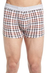 Men's Boss Print Stretch Cotton Boxer Briefs