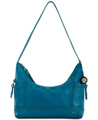 The Sak Kendra Leather Hobo Azure