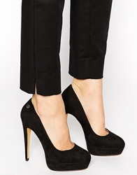 Blink Platform Pumps Black