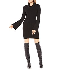 Bcbgmaxazria Layla Convertible Sweater Dress Black