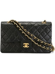 Chanel Vintage '2.55' Shoulder Bag Black