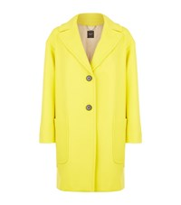 Max Mara Maxmara Weekend Oversized Wool Boyfriend Coat Female