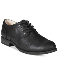 White Mountain Saint Tailored Lace Up Oxfords Women's Shoes Black