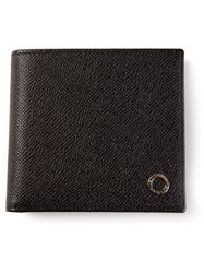 Bulgari Bill Fold Wallet Black