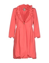 Toy G. Full Length Jackets Coral