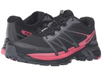 Salomon Wings Pro 2 Black Dark Cloud Madder Pink Women's Shoes