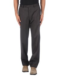 Canali Trousers Casual Trousers Men Steel Grey