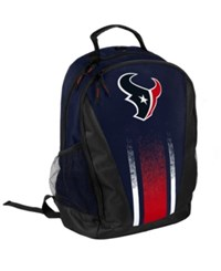 Forever Collectibles Houston Texans Prime Time Backpack Navy