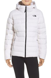 The North Face Women's W Hooded Stretch Down Jacket Tnf White