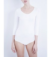 Wolford Jersey Thong Body White