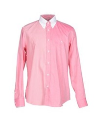 Harmont And Blaine Shirts Coral
