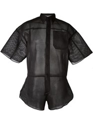 Christopher Shannon Mesh Shirt Black