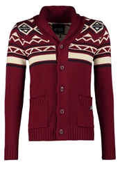 Your Turn Cardigan Bordeaux