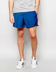 Adidas Originals Retro Shorts Aj7388 Blue