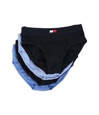 Tommy Hilfiger Cotton Hip Brief 4 Pack Dark Navy Men's Underwear