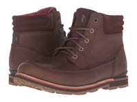 The North Face Bridgeton Chukka Rope Brown Arabian Spice Men's Lace Up Boots