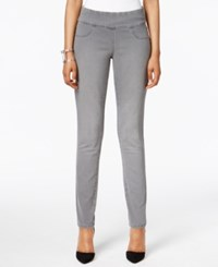 Styleandco. Style Co. Petite Curvy Fit Pull On Jeggings Whisper Grey