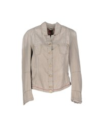 Marithe' F. Girbaud Le Jean De Marithe Francois Girbaud Suits And Jackets Blazers Women Grey