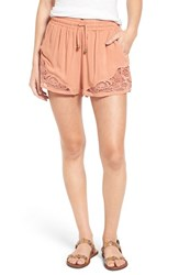 Women's Bp. Crochet Edge Shorts