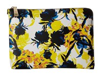 Ivanka Trump Rio Tech Sleeve Moody Floral Moody Floral Non Leather Clutch Handbags Yellow
