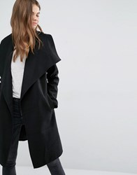 Jdy J.D.Y Wrap Coat Black
