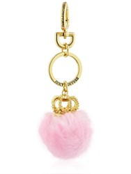 Juicy Couture Crown Pompom Key Ring