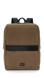 Jack Spade Surf Canvas Backpack Dockside Green