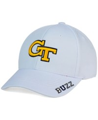 Top Of The World Georgia Tech Yellow Jackets Even Flow Cap White