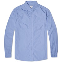White Mountaineering Broad Shirt Blue