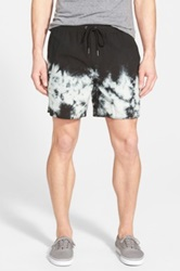 Rvca 'Bleached' Volley Shorts Black