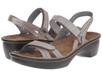 Naot Footwear Brussels Silver Threads Leather Women's Sandals