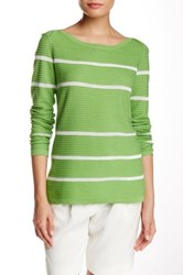 Cullen Long Sleeve Hi Lo Sweater Multi