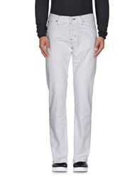 Take Two Denim Denim Trousers Men White