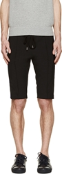Markus Lupfer Black And Blue Camo Trimmed Shorts