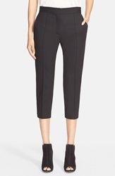Iro 'Amaele' Crop Stretch Wool Pants Black