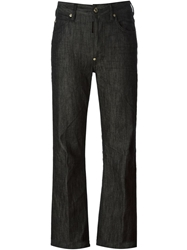 Dsquared2 High Waist Flared Jeans Black