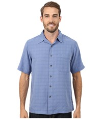 Royal Robbins San Juan S S Evening Blue Men's Short Sleeve Button Up