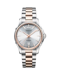 Hamilton Jazzmaster Day Date Automatic Watch 40Mm Silver