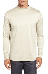 Men's Bugatchi Long Sleeve Mock Neck T Shirt