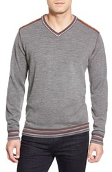 Men's Robert Graham 'Shayne' V Neck Sweater