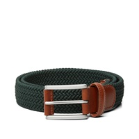 Andersons Anderson's Woven Textile Belt Dark Green