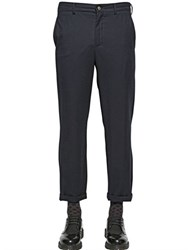 Golden Goose 19Cm Wool Flannel And Cashmere Trousers