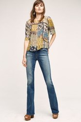 Anthropologie Mother Cruiser Flare Jeans Rough It Up