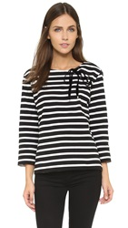 Marc By Marc Jacobs Jacquelyn Stripe Shirt Black Multi
