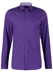 Olymp Level 5 Body Fit Formal Shirt Pflaume Purple