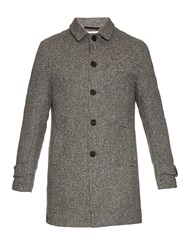 Oliver Spencer Flecked Wool Coat