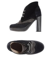 Serafini Etoile Lace Up Shoes Black