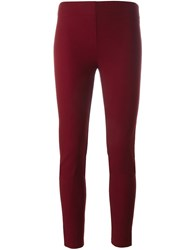 Joseph Skinny Trousers Red