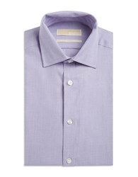Michael Michael Kors Cotton Dress Shirt Purple